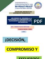 DIAPOSITIVAS DEL PROYECTO DE INNOVACIÓN ECE 2011