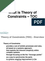 2. What is TOC - Goldratt Schools