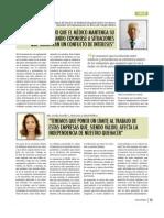 Entrevista Dra Cecilia Castillo sobre relación de médicos con laboratorios e industria alimentaria