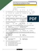 (Www.entrance Exam.net) Gate Civil Engineering 2009 (1)