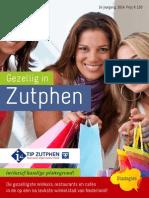 Gezellig in Zutphen 2014 Website