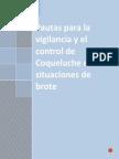 Pautas Para Vigilancia Control Coqueluche Situaciones Brote