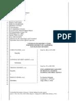 NSA Fleisch 2013 Jewel Shubert Declaration Unclassified
