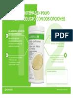 Herbalife Polvo de Proteina