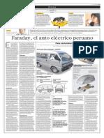 Faraday el auto eléctrico peruano