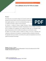 González, Malena - Historia y memoria de militantes de FAP PB