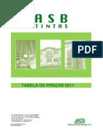 Tabela preços - ASB tintas 2011_pdf