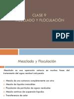 Clase 9, Mezclado y Floculación