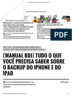 Como Fazer o Backup No iPhone iPad _ Blog Do iPhone