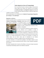 Diagnostico Integral en Traumatologia