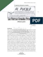 Mosquera, Mariano - Las Fuerzas Armadas Peronistas