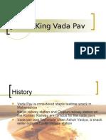 Jumbo King Vada Pav ppt