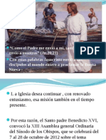 SÍNODO DE LOS OBISPOS power   definitivo mas introduccion