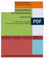 Management International CURS ASE