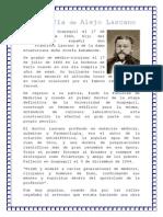 Biografía de Alejo Lascano