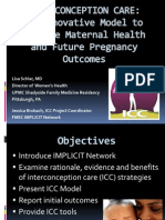 Interconception Care