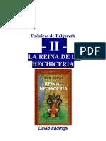 Eddings, David - Cronicas de Belgarath 2 - La Reina de La Hechiceria