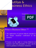 Kautilya & Business Ethics