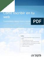 Escribe Web