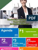 Tendencias actuales en la contratación de recursos humanos