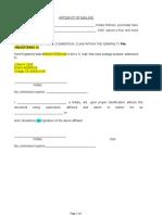 02b Status (DATE) Aff of Mailing ICC