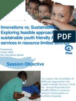 Innovations v. Sustainability