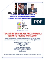 Know Your Rights Tenants