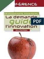 Développements alimentaires - la demande guide linnovation