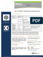 Vatral 150-650 Technical Insulation Board_Technical Datasheet