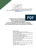 Revista Novedades Educativas SUGERENCIAS CIIFE 2008 Formacion Docente