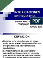 Intoxicaciones Frecuentes en Pediatria