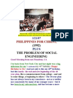 PHILIPPINES for CHRIST (1992, 2007)  by vanderKOK