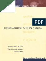 Gest i on Ambient Al Nacional y Urban A