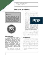 553 Navy Rank Structure