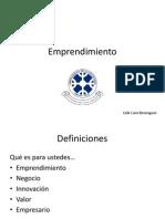 Parte 1 Emprendimiento y Desarrollo Empresarial