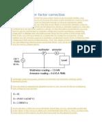 Powerfactor Correction