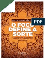 Livro Foco Define Sorte