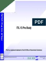 ITILV3Pre Study