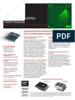 E6760 MXM Product Brief