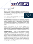 RespectAbility Progress Report Summary April 2014