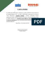 Carta Fianza Devolucion