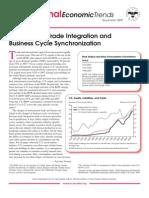International Economic Trends