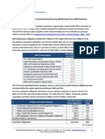 Department of Homeland Security (DHS) Fiscal Year 2013 Contract Funding Factsheet