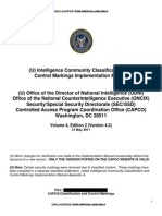 (U) Intelligence Community Classification and Control Markings Implementation Manual (v4.2)