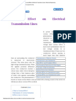 Corona Effect on Electrical Transmission Lines _ Electrical Engineering