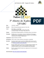 3º Aberto de Xadrez da UFABC (2)
