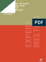Expert Meeting Report