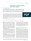 Diabetic Foot Infections a Team-Oriented Review of Medical and Surgical Management