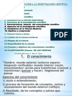 El conocimiento cientifico TeoríaMétodo,Hecho14 InvCientppt