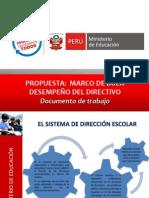 MARCO BUEN DESEMPEÑO DIRECTIVO PROPUESTAPRESENTACIÓN MBDD 151013 (2)